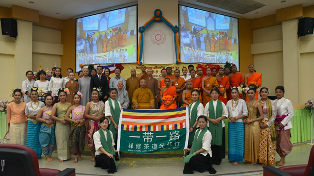 Ven. Ren Da attended and addressed the Opening Ceremony of Buddha Festival in Nagpur, India